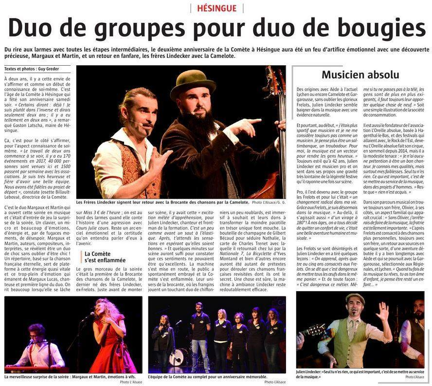 Article L'Alsace 20.11